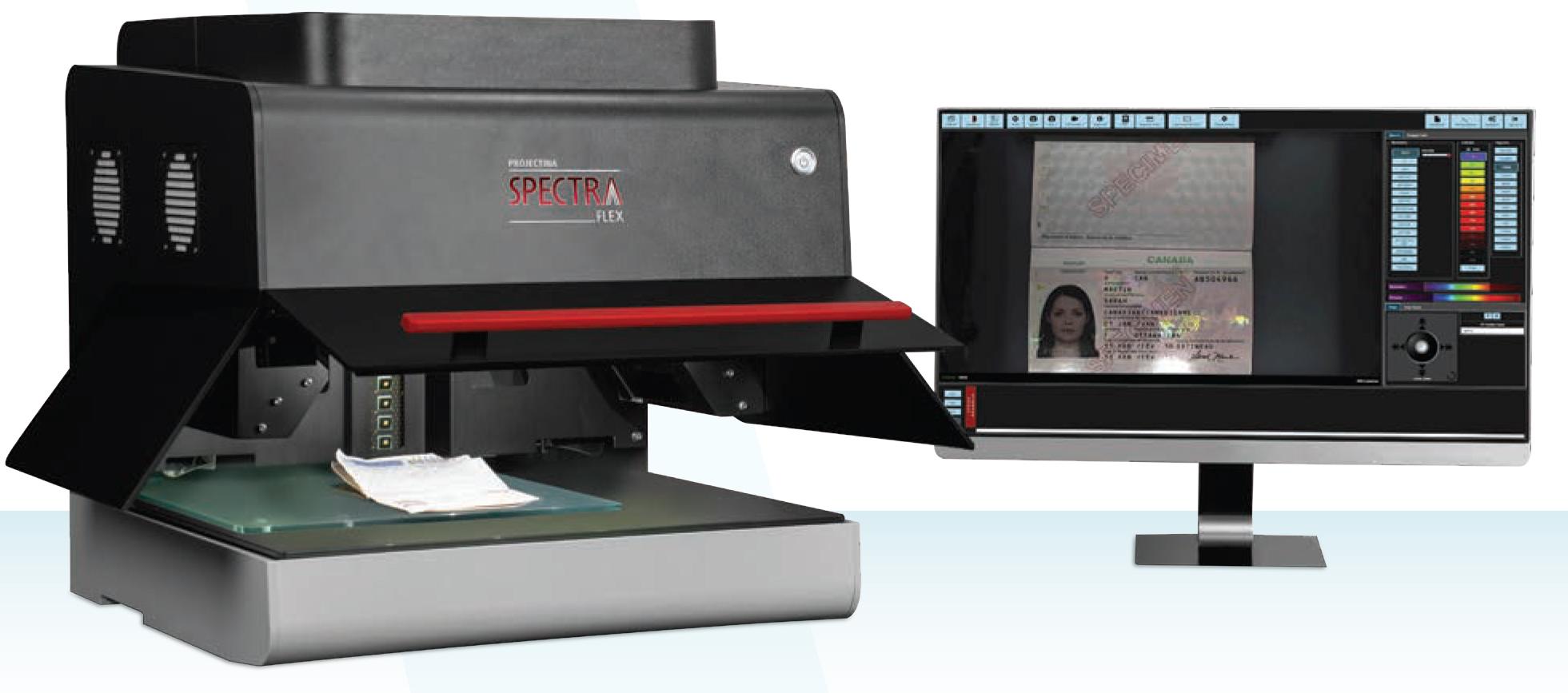 Spectra Flex z monitorem